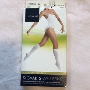 SIGVARIS well being  cotton compression socks